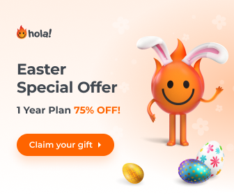 Hola VPN Easter Sale
